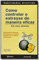 Livro - Como controlar o estresse de maneira eficaz -