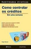 Livro - Como controlar os créditos -