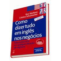 Livro - Como dizer tudo em inglês negócios -