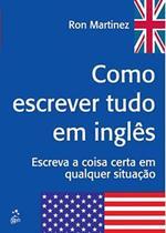 Livro - Como escrever tudo em inglês -