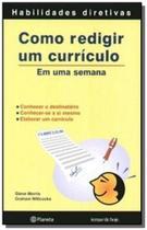 Livro - Como redigir um currículo -