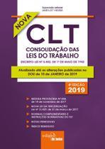 Livro - Consolidação das Leis do Trabalho 2019 - Mini -