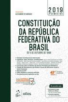 Livro - Constituição da Republica Federativa do Brasil -