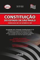 Livro - Constituição do estado de São Paulo -