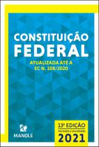 Livro - CONSTITUIÇÃO FEDERAL -