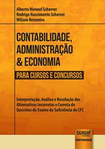 Livro - Contabilidade, Administração & Economia para Cursos e Concursos -