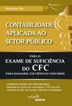 Livro - Contabilidade aplicada ao setor público para o exame de suficiência do CFC -