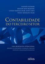 Livro - Contabilidade do terceiro setor : associações, fundações, partidos políticos e organizações religiosa -