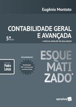 Livro - Contabilidade geral e avançada esquematizada® - 5ª edição de 2018 -