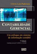 Livro - Contabilidade Gerencial: Um Enfoque Em Sistema De Informação Contábil -