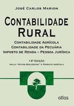 Livro - Contabilidade Rural: Contabilidade Agrícola, Contabilidade Da Pecuária E Imposto De Renda - Pj -