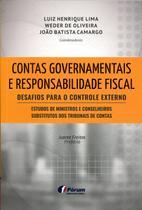 Livro - Contas governamentais e responsabilidade fiscal -
