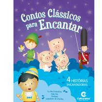 Livro - CONTOS CLASSICOS PARA ENCANTAR ROXO -