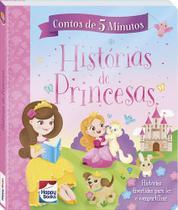 Livro - Contos de 5 minutos: Histórias de princesas -