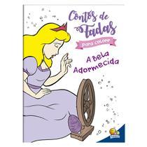 Livro - Contos de fada para colorir: A Bela Adormecida -