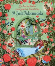 Livro - Contos de fadas com janelas divertidas : A Bela adormecida -
