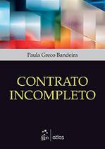 Livro - Contrato Incompleto -