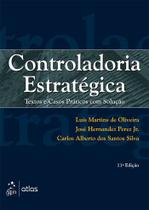 Livro - Controladoria Estratégica: Textos E Casos Práticos Com Solução -