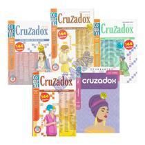 Livro Coquetel Cruzadox Exercício Para Memória Quarentena -