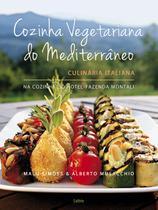 Livro - Cozinha Vegetariana do Mediterraneo -