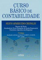 Livro - Curso Básico De Contabilidade: Gestão Empresarial, Exercícios E Questões Com Respostas -
