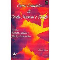 Livro - Curso Completo de Teoria Musical e Solfejo - Vol. 1 -