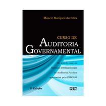 Livro - Curso De Auditoria Governamental: Normas Internacionais Auditoria Pública Aprovadas Pela Intosai -
