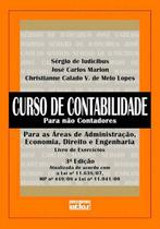 Livro - Curso De Contabilidade Para Não Contadores - Exercícios -