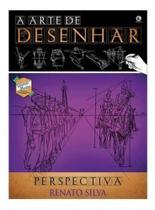Livro Curso De Desenho A Arte De Desenhar Perspectiva - Editora Criativo -