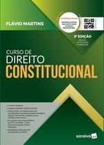 Livro - Curso de direito constitucional - 3ª edição de 2019 -