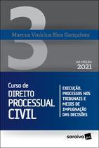 Livro - Curso de Direito Processual Civil - Volume 3 - 14ª Edição 2021 -