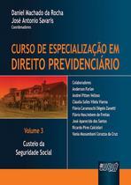 Livro - Curso de Especialização em Direito Previdenciário - Volume 3 -
