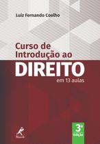 Livro - Curso de introdução ao direito -