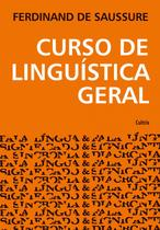 Livro - Curso de Linguística Geral -