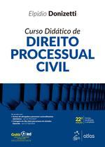 Livro - Curso Didático de Direito Processual Civil -