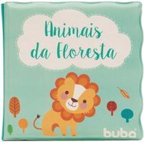 Livro de banho animais da floresta - Buba