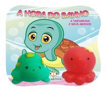 Livro de banho bebe a hora do banho tartaruga e seus amigos - Blueditora