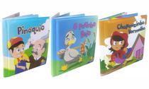 Livro de Banho Coleção com 03 livros Personagens Clássicos - Todolivro