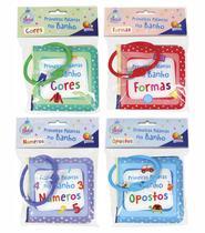 Livro de Banho Coleção com 04 livros Primeiras Palavras do Bebê - Todolivro
