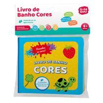 Livro de Banho CORES Muda de Cor Quando Molha Baby Kids - Artebrincs