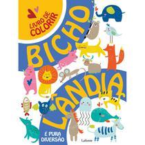 Livro de colorir - Bicholândia - Lafonte -