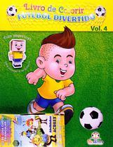Livro de colorir: Futebol divertido - Vol. 4 - Blu