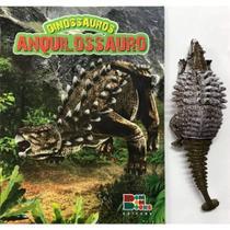 Livro De Dinossauro Com Miniatura Articulada - Anquilossauro - Bom Bom Books