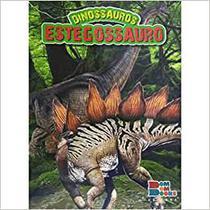 Livro de Dinossauro com Miniatura Articulada - Estegossauro - Bom Bom Books -