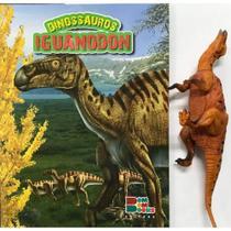 Livro De Dinossauro Com Miniatura Articulada - Iguanodon - Bom Bom Books