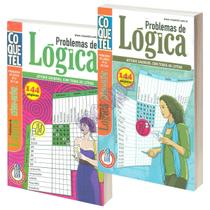 Livro de Passatempo Coquetel Coleção Problemas de Lógica -