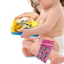 Livro de Pelúcia A Bela e a Fera Especial para Bebê mais Brinde - Dcl