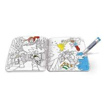 Livro De Pintura Batman E Super Amigos Pinte E Lave - Fun -
