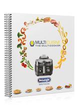 Livro de Receitas Multicuisine Delonghi - Polishop