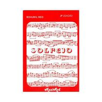 Livro de Solfejo Musical Bohumil Med - Edição 3 - Musimed - editora
